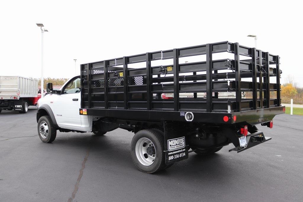 2020 Ram 4500 Regular Cab DRW 4x4, Monroe Work-A-Hauler II Stake Bed #M201198 - photo 2