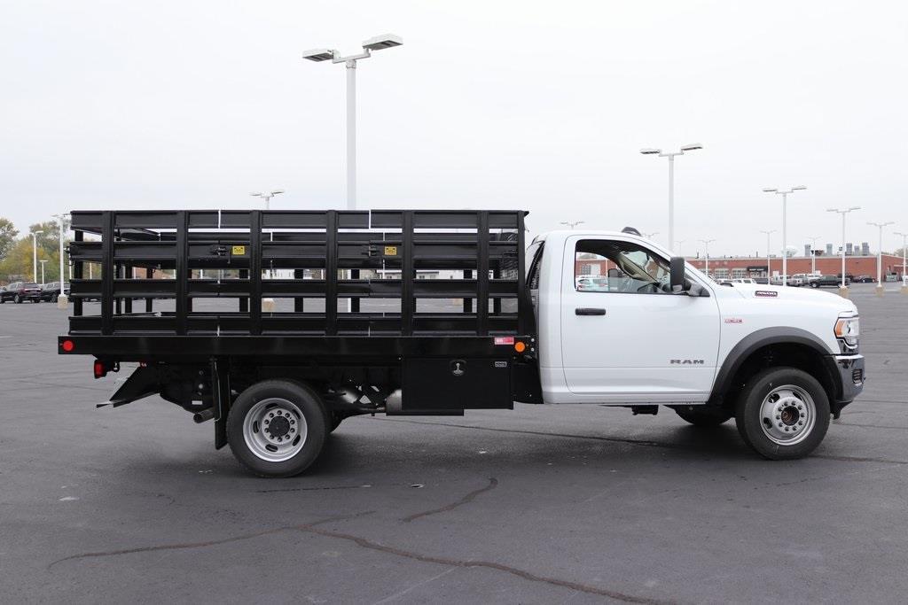 2020 Ram 4500 Regular Cab DRW 4x4, Monroe Work-A-Hauler II Stake Bed #M201198 - photo 6