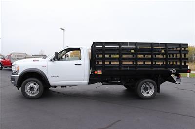 2020 Ram 4500 Regular Cab DRW 4x4, Monroe Work-A-Hauler II Stake Bed #M201198 - photo 3