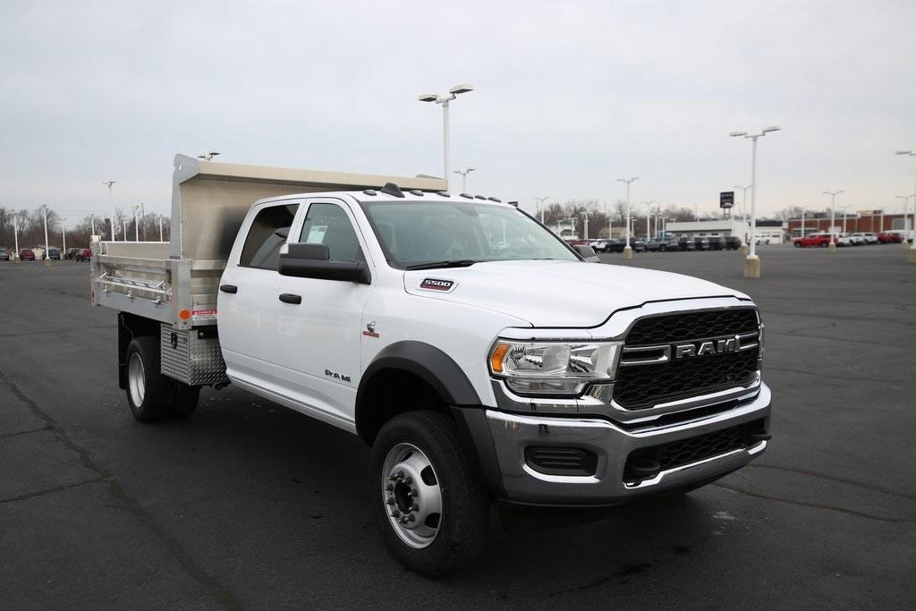 2020 Ram 5500 Crew Cab DRW 4x4, Duramag Dump Body #M201265 - photo 4