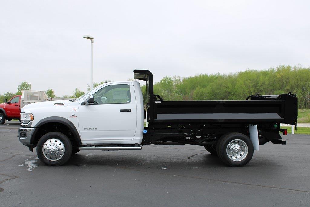 2020 Ram 5500 Regular Cab DRW 4x4, Knapheide Drop Side Dump Body #M201324 - photo 3
