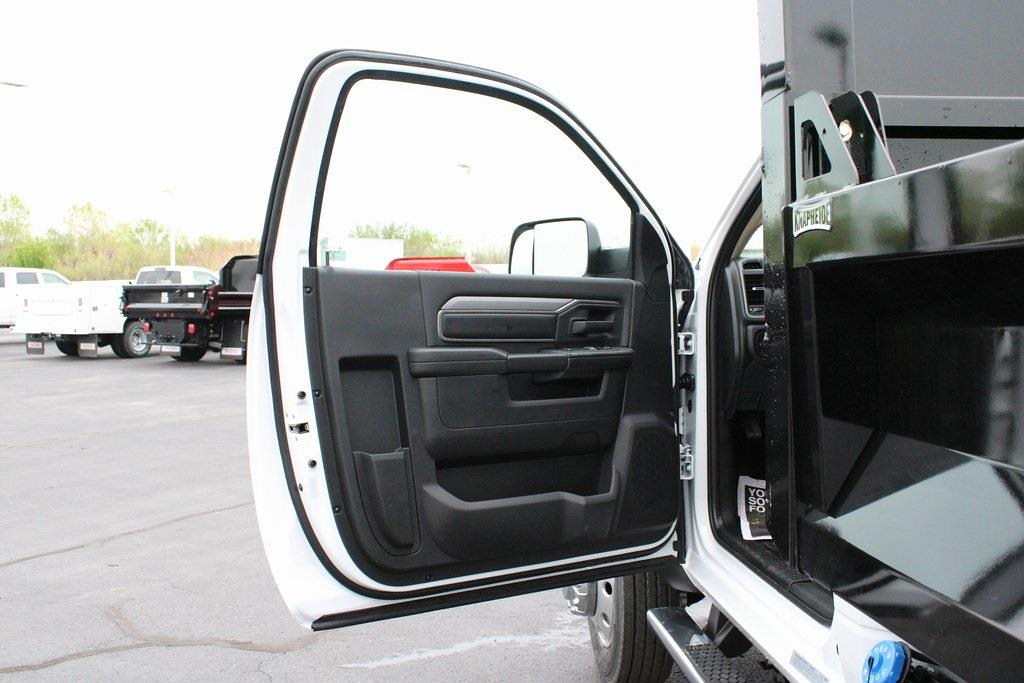 2020 Ram 5500 Regular Cab DRW 4x4, Knapheide Drop Side Dump Body #M201324 - photo 24