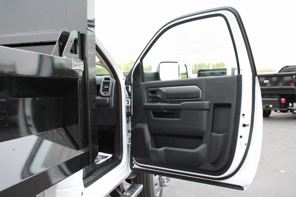 2020 Ram 5500 Regular Cab DRW 4x4, Knapheide Drop Side Dump Body #M201324 - photo 26