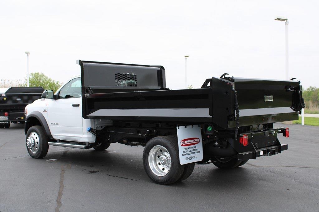 2020 Ram 5500 Regular Cab DRW 4x4, Knapheide Dump Body #M201324 - photo 1