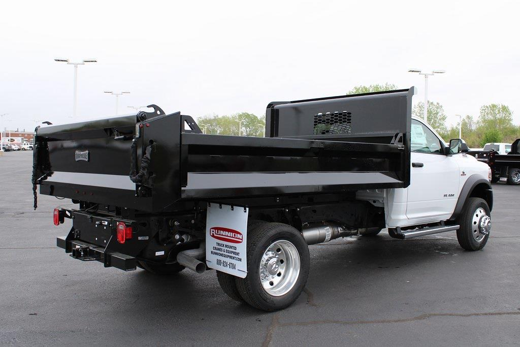 2020 Ram 5500 Regular Cab DRW 4x4, Knapheide Drop Side Dump Body #M201324 - photo 5
