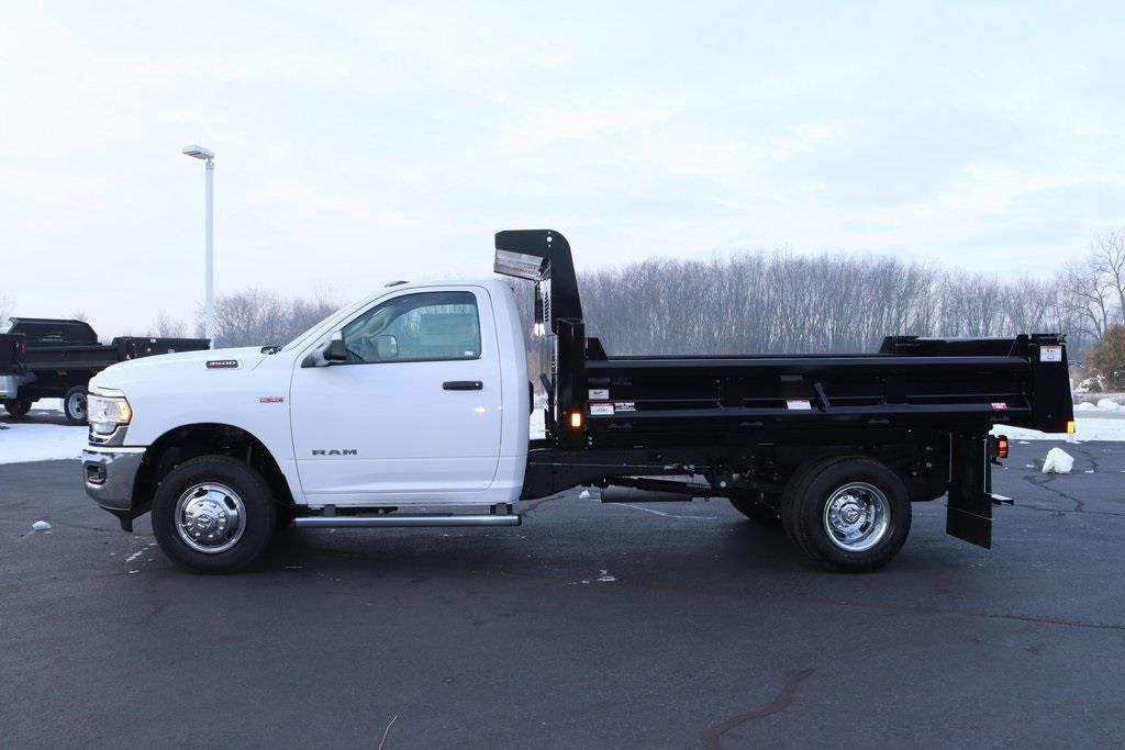 2020 Ram 3500 Regular Cab DRW 4x2, Rugby Contractor Dump Body #M201351 - photo 3
