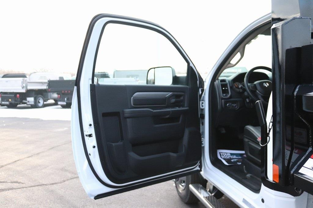 2020 Ram 3500 Regular Cab DRW 4x2, Rugby Contractor Dump Body #M201351 - photo 25