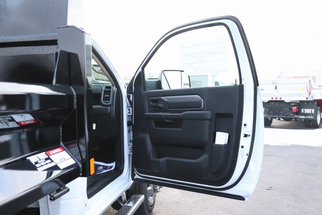 2020 Ram 3500 Regular Cab DRW 4x2, Rugby Contractor Dump Body #M201351 - photo 28