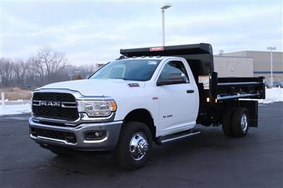 2020 Ram 3500 Regular Cab DRW 4x2, Rugby Contractor Dump Body #M201351 - photo 10