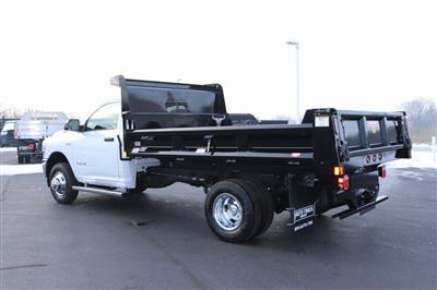 2020 Ram 3500 Regular Cab DRW 4x2, Rugby Contractor Dump Body #M201351 - photo 2