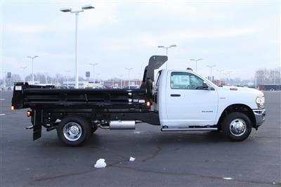 2020 Ram 3500 Regular Cab DRW 4x2, Rugby Contractor Dump Body #M201351 - photo 7