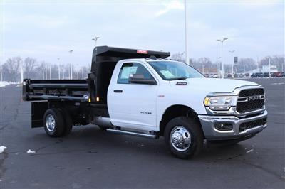 2020 Ram 3500 Regular Cab DRW 4x2, Rugby Contractor Dump Body #M201351 - photo 8