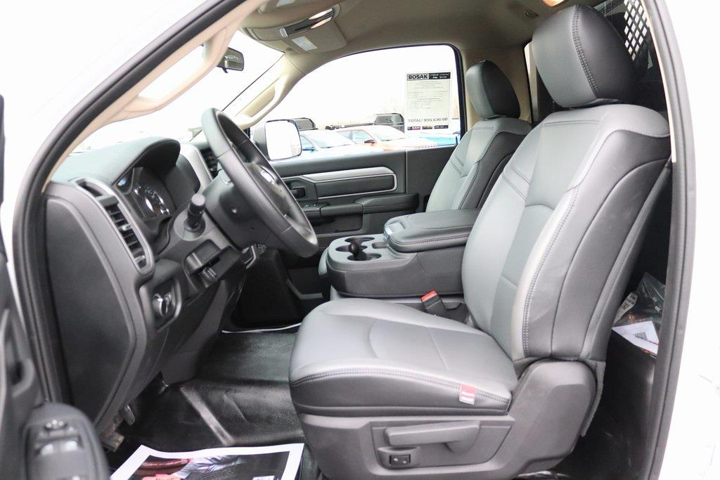 2020 Ram 3500 Regular Cab DRW 4x4, Morgan Prostake Platform Body #M201366 - photo 10
