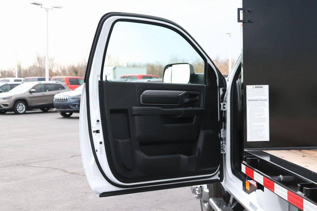 2020 Ram 3500 Regular Cab DRW 4x4, Morgan Prostake Platform Body #M201366 - photo 25