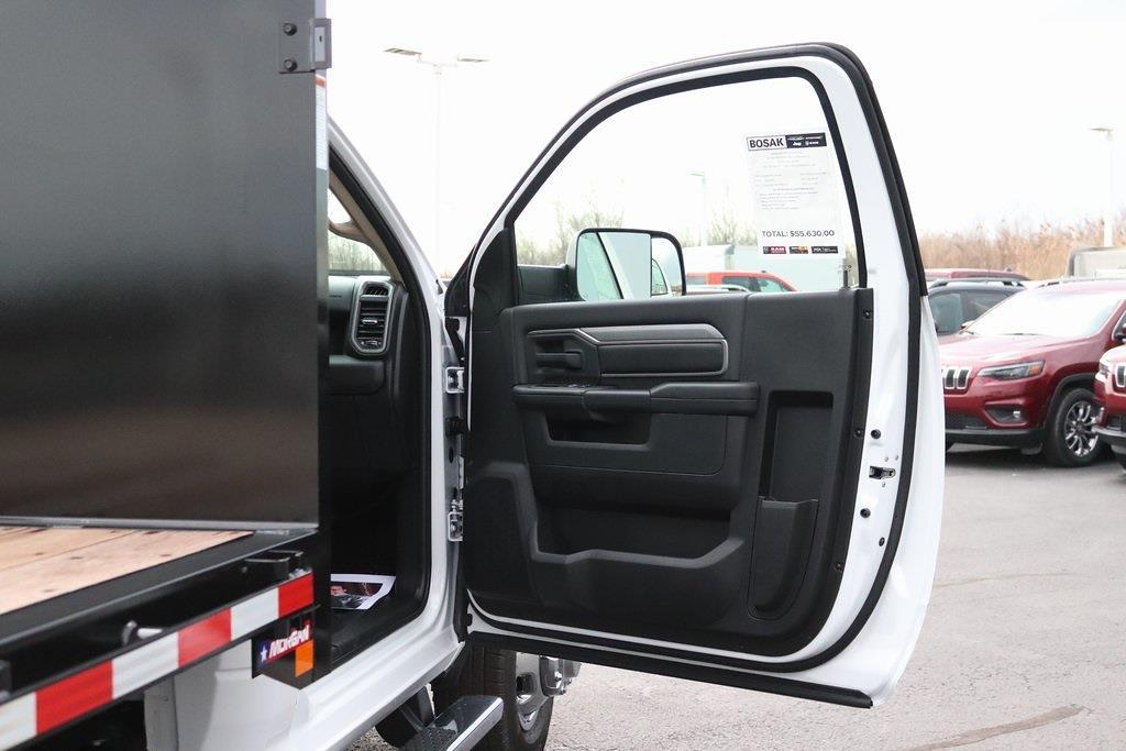 2020 Ram 3500 Regular Cab DRW 4x4, Morgan Prostake Platform Body #M201366 - photo 28