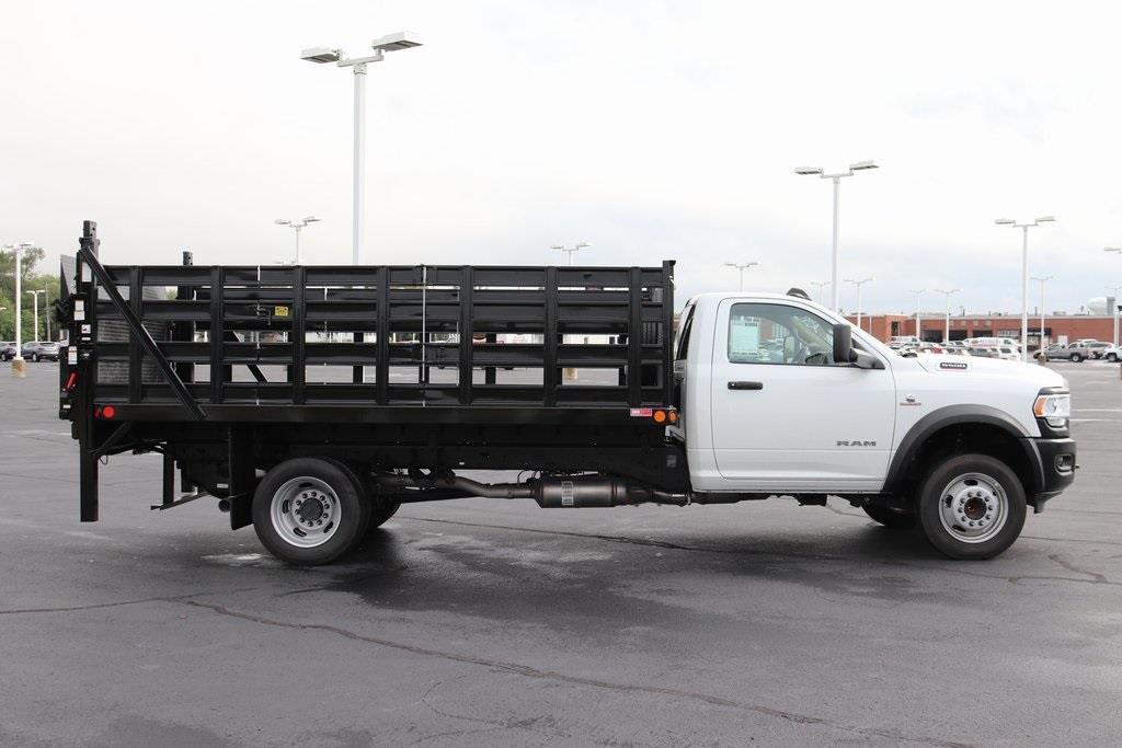 2020 Ram 5500 Regular Cab DRW 4x2, Monroe Versa-Line Stake Body Stake Bed #M20702 - photo 7