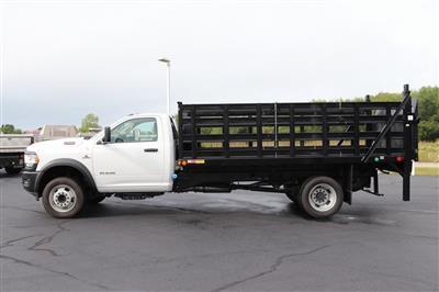 2020 Ram 5500 Regular Cab DRW 4x2, Monroe Versa-Line Stake Body Stake Bed #M20702 - photo 4