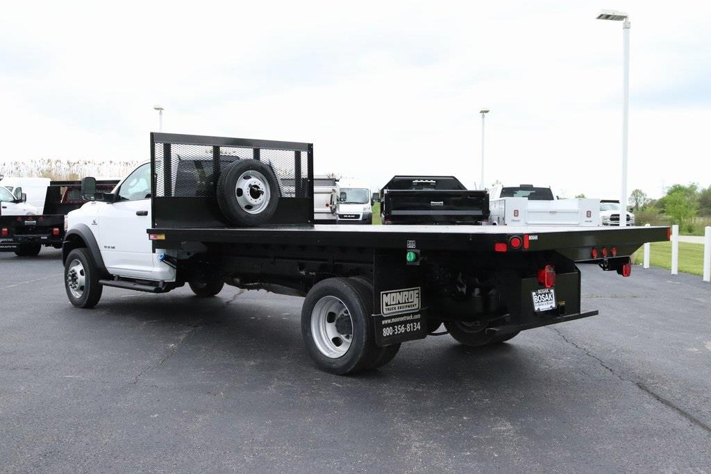 2020 Ram 5500 Regular Cab DRW 4x2, Monroe Platform Body #M20707 - photo 1