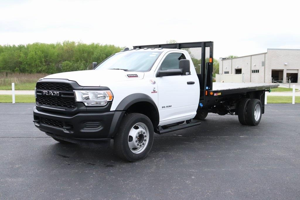 2020 Ram 5500 Regular Cab DRW 4x2, Monroe Platform Body #M20707 - photo 9