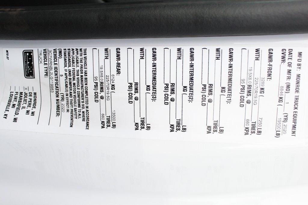 2020 Ram 5500 Regular Cab DRW 4x4, Reading Marauder Dump Body #M20787 - photo 34