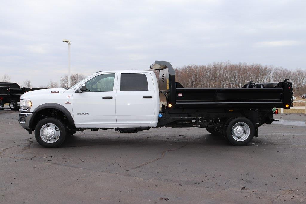 2021 Ram 4500 Crew Cab DRW 4x4, Crysteel E-Tipper Dump Body #M210647 - photo 3