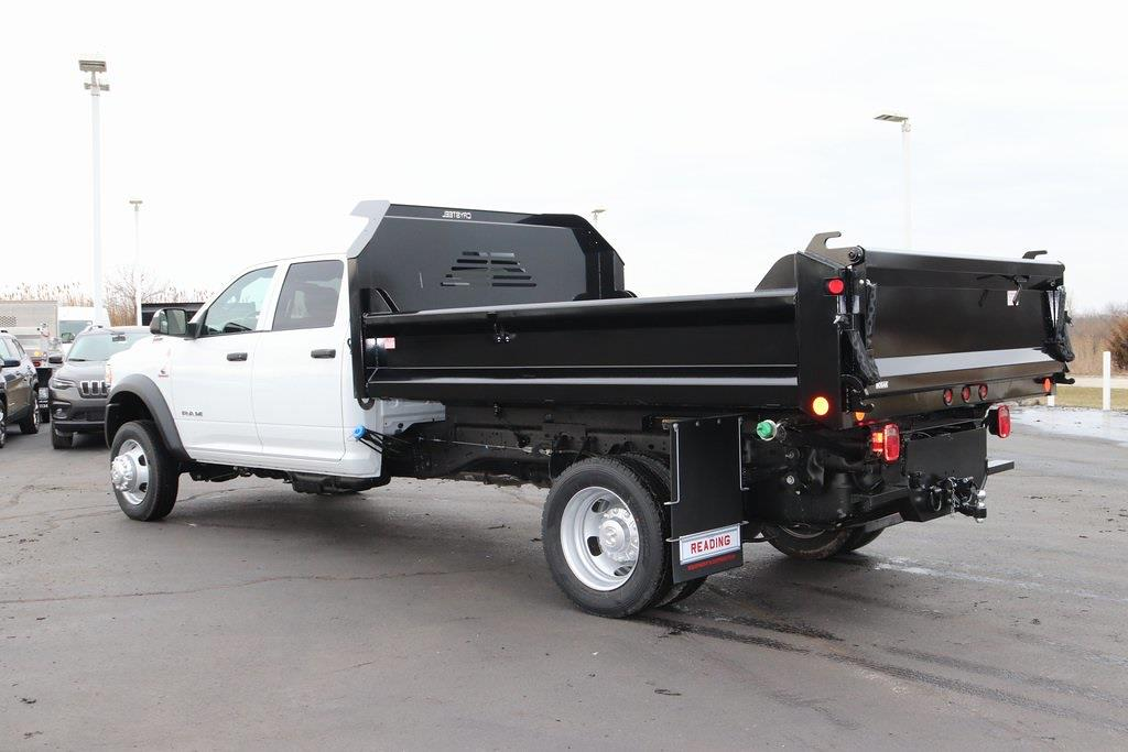2021 Ram 4500 Crew Cab DRW 4x4, Crysteel E-Tipper Dump Body #M210647 - photo 2