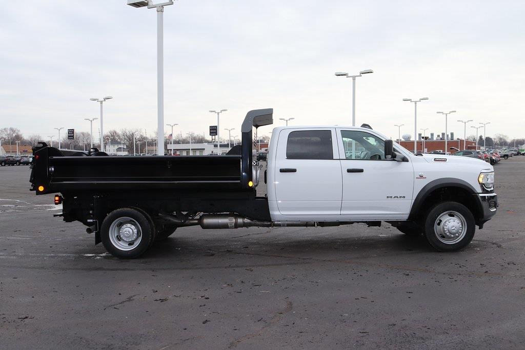 2021 Ram 4500 Crew Cab DRW 4x4, Crysteel E-Tipper Dump Body #M210647 - photo 6