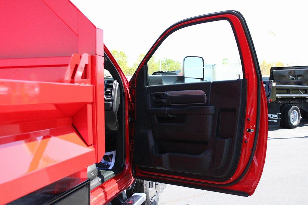 2021 Ram 3500 Regular Cab DRW 4x4, Knapheide Drop Side Dump Body #M210789 - photo 29