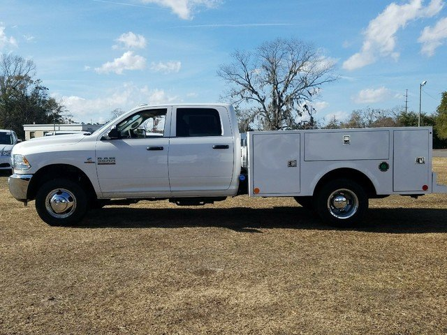 2018 Ram 3500 Crew Cab DRW 4x4, Warner Service Body #R136618 - photo 2