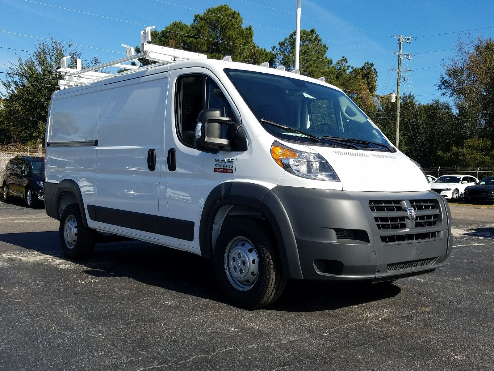 2017 ProMaster 1500 Low Roof, Commercial Van Upfit #R549419 - photo 3