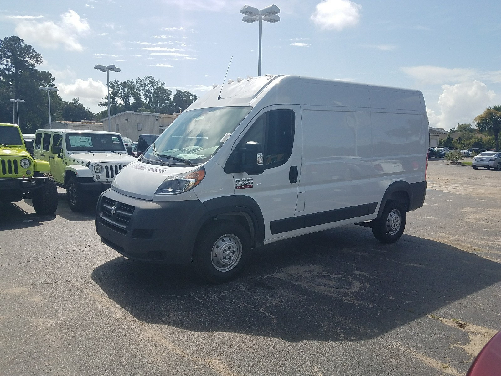 2017 ProMaster 1500 High Roof, Cargo Van #R549423 - photo 4