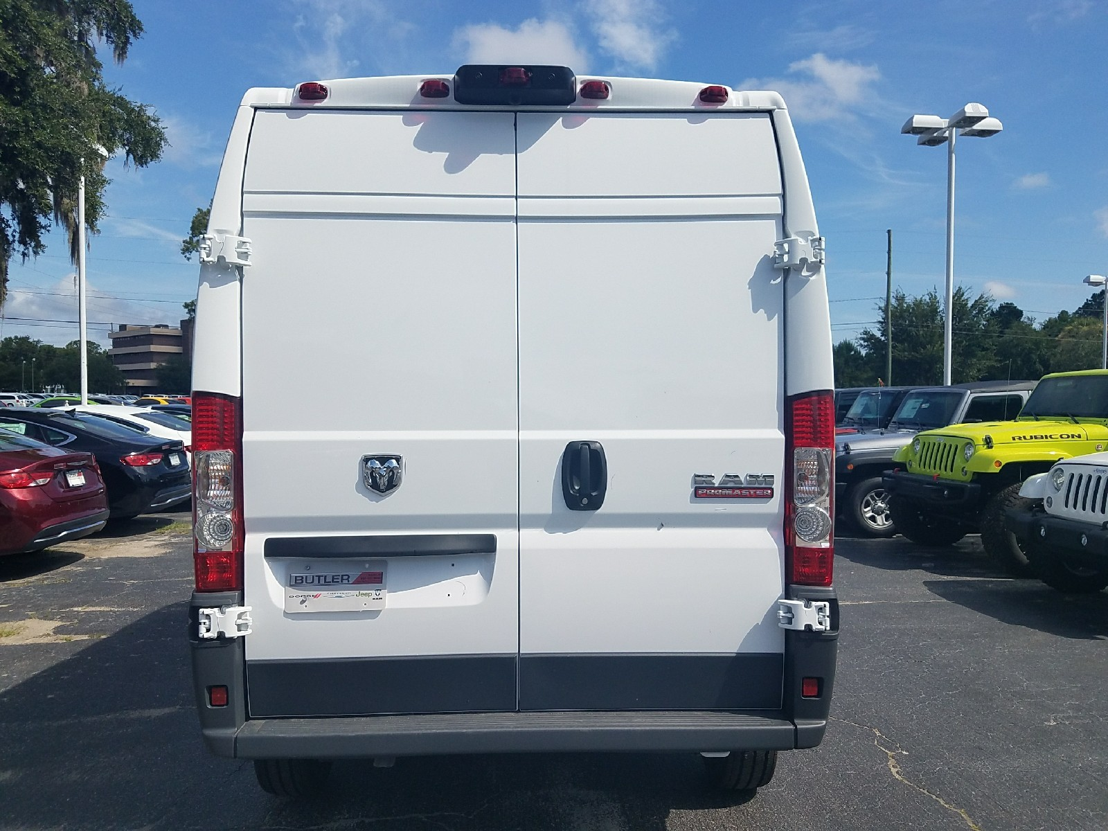 2017 ProMaster 1500 High Roof, Cargo Van #R549423 - photo 2