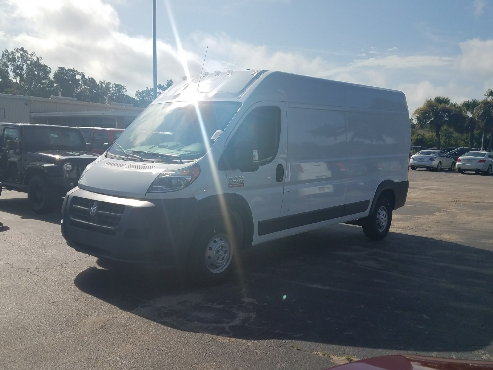 2017 ProMaster 2500 High Roof, Cargo Van #R549588 - photo 4