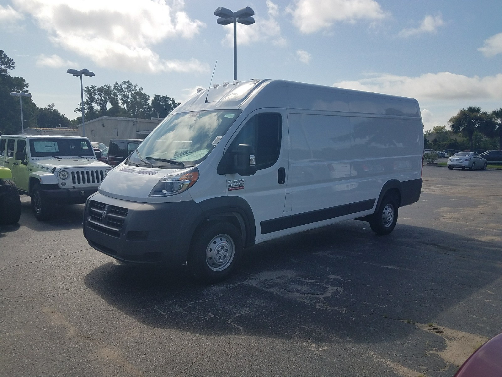 2017 ProMaster 3500 High Roof, Cargo Van #R549705 - photo 4