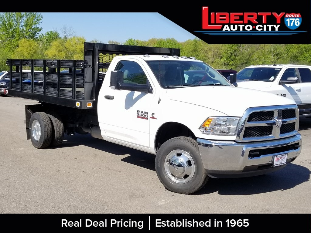 2018 Ram 3500 Regular Cab DRW 4x2,  Knapheide Stake Bed #618189 - photo 1