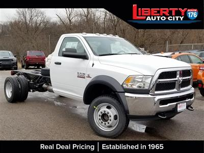 2018 Ram 4500 Regular Cab DRW 4x4,  Cab Chassis #618345 - photo 1