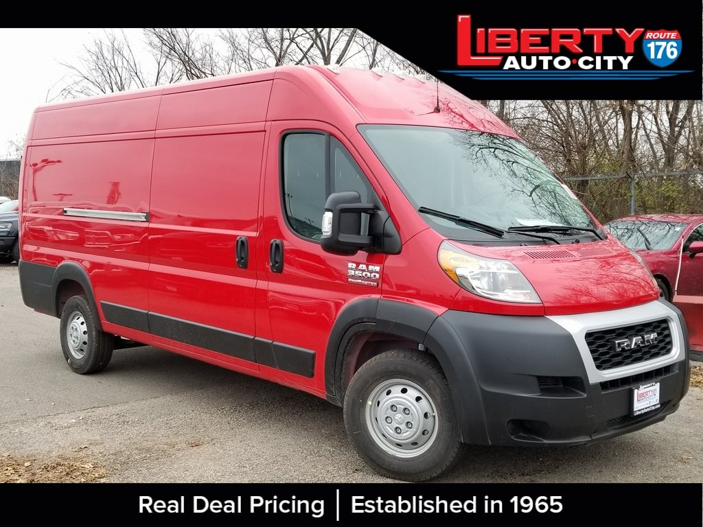 2019 ProMaster 3500 High Roof FWD,  Empty Cargo Van #619058 - photo 1