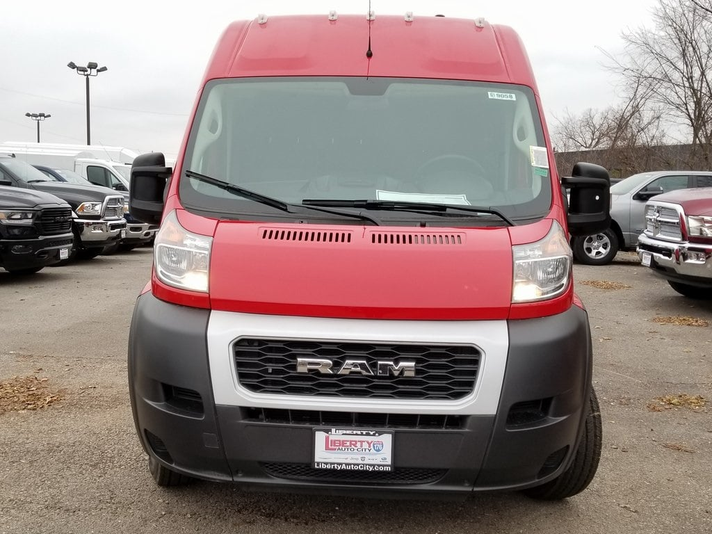 2019 ProMaster 3500 High Roof FWD,  Empty Cargo Van #619058 - photo 3