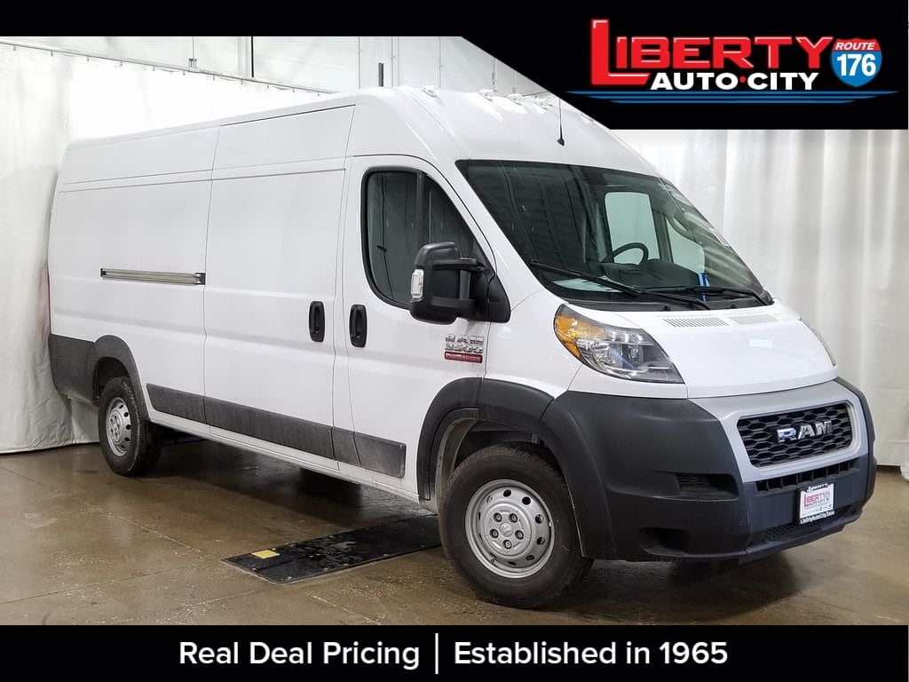 2019 ProMaster 3500 High Roof FWD,  Empty Cargo Van #619075 - photo 1