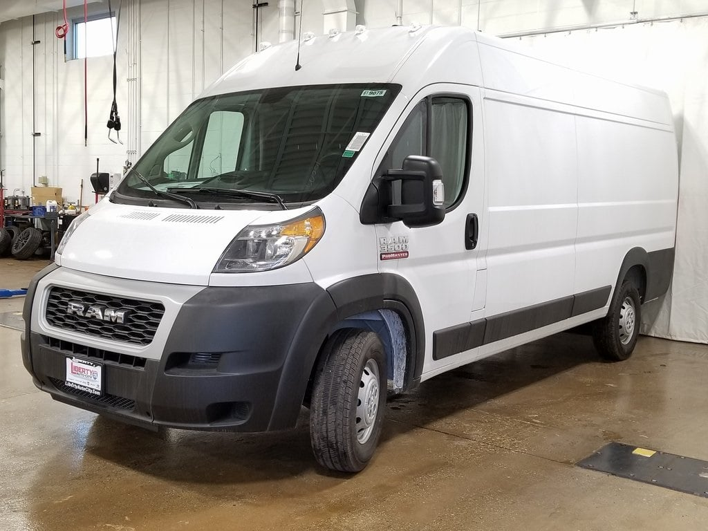 2019 ProMaster 3500 High Roof FWD,  Empty Cargo Van #619075 - photo 4
