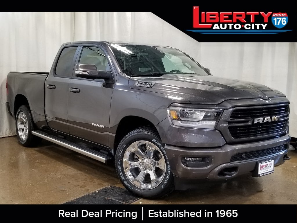 2019 Ram 1500 Quad Cab 4x4,  Pickup #619114 - photo 1