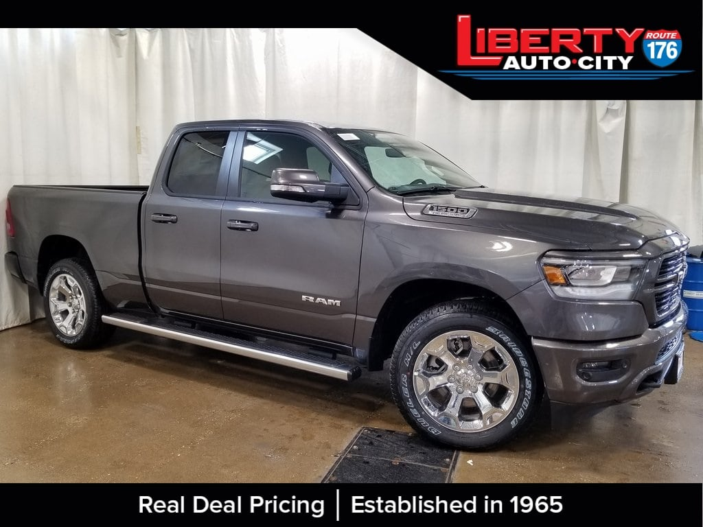 2019 Ram 1500 Quad Cab 4x4,  Pickup #619114 - photo 5