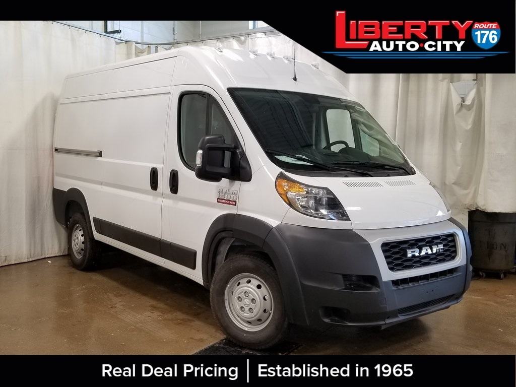 2019 ProMaster 1500 High Roof FWD, Empty Cargo Van #619255 - photo 1