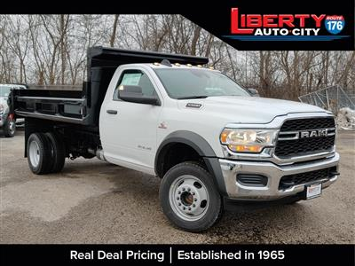 2019 Ram 5500 Regular Cab DRW 4x4, Air-Flo Dump Body #619282 - photo 1