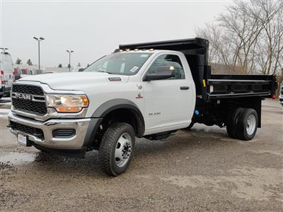 2019 Ram 5500 Regular Cab DRW 4x4, Air-Flo Dump Body #619282 - photo 14