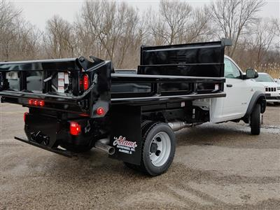 2019 Ram 5500 Regular Cab DRW 4x4, Air-Flo Dump Body #619282 - photo 2