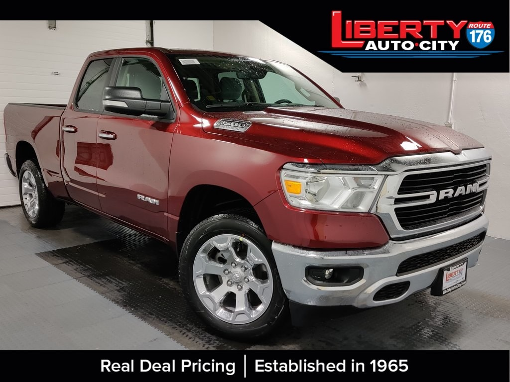 2020 Ram 1500 Quad Cab 4x4, Pickup #620031 - photo 1