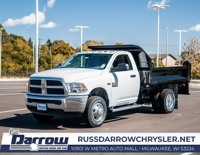 2018 Ram 3500 Regular Cab DRW 4x4, Knapheide Drop Side Dump Body #R18149 - photo 6