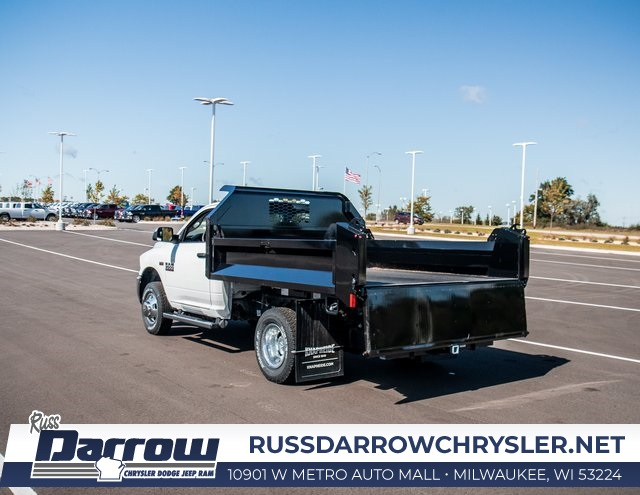 2018 Ram 3500 Regular Cab DRW 4x4, Knapheide Drop Side Dump Body #R18149 - photo 10