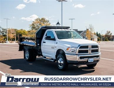 2018 Ram 3500 Regular Cab DRW 4x4, Knapheide Drop Side Dump Body #R18149 - photo 1